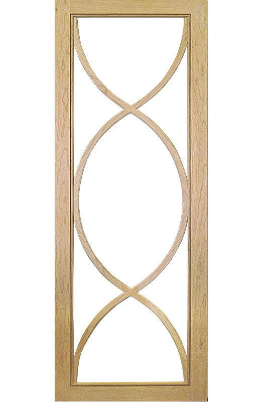 Hiland Wood Products Cabinet Door Custom Gothic 4