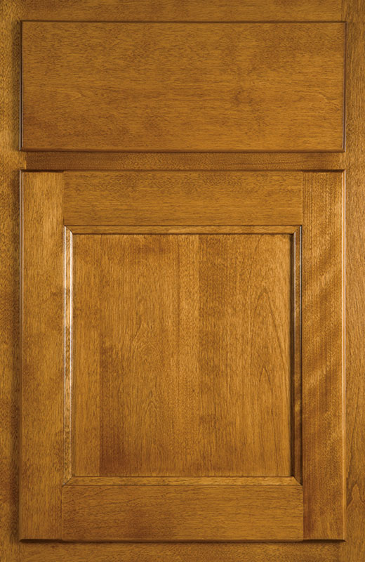 Hiland Wood Products Cabinet Door Traditional Flat Panel