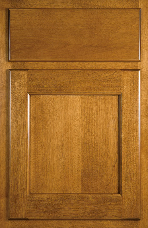 Hiland Wood Products Cabinet Door Recessed Radius
