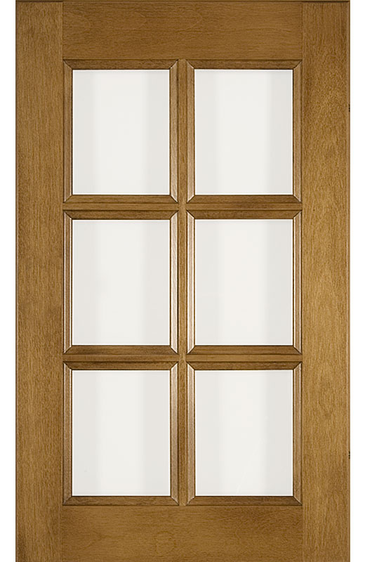Hiland Wood Products Cabinet Door Traditional Muntins