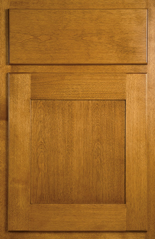 Hiland Wood Products Cabinet Door Shallow Shaker