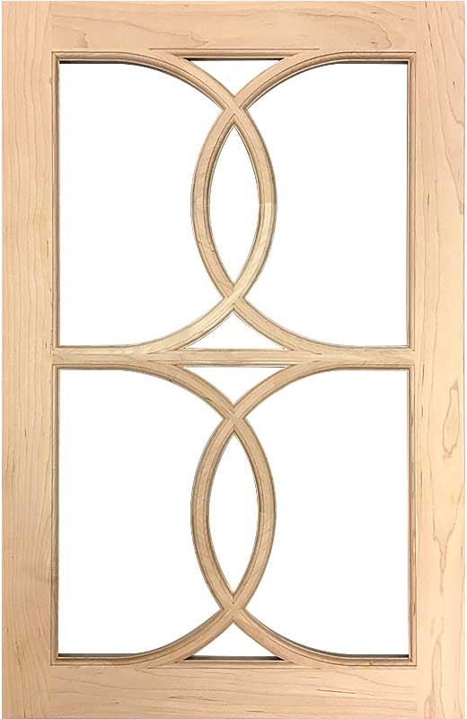 Hiland Wood Products Cabinet Door Gothic Crossover
