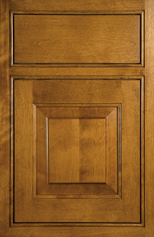 Hiland Wood Products Cabinet Door Inset Beaded