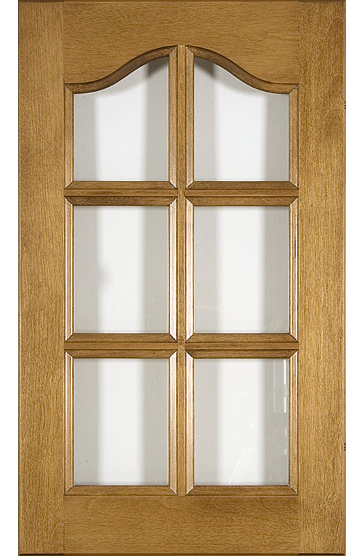 Hiland Wood Products Cabinet Door Cathedral Muntin Bar